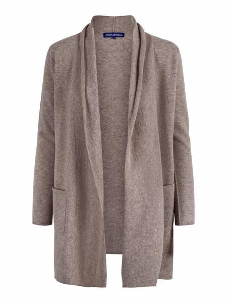 Bilde av Organic cashmere jakke med splitt