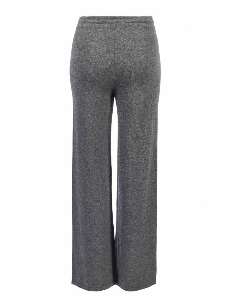 Grå cashmere bukse