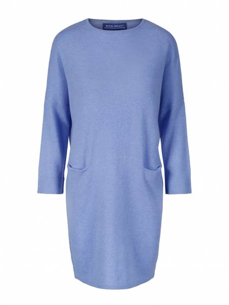 Bilde av Lyseblå BATWING Cashmere tunic