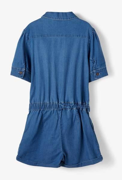 Bilde av nkfBatas dnm shorts suit - Medium Blue Denim