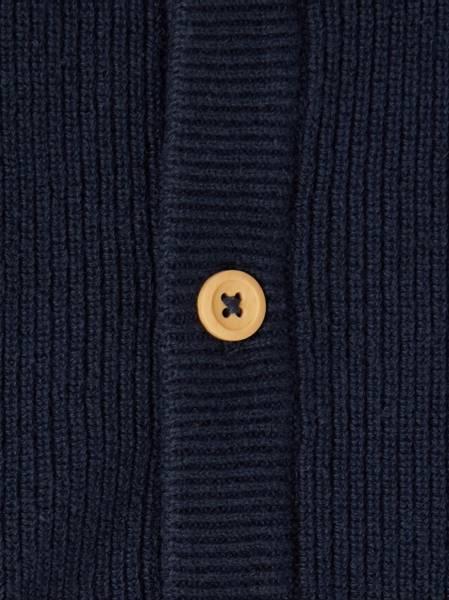 Bilde av NmmFanhan ls knit cardigan - Dark sapphire