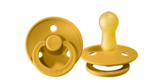 Bilde av Bibs Rund Sutt - Mustard