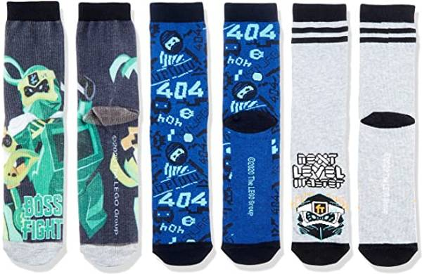Bilde av Ninjago 3-pk sokker - Dark navy