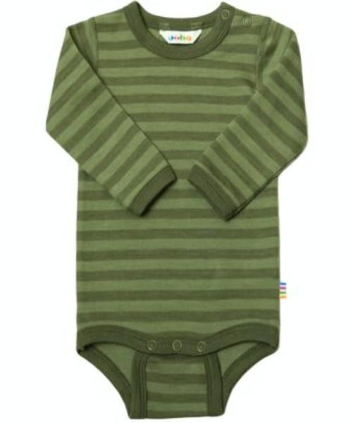 Bilde av Joha Ullbody - Stripet grønn