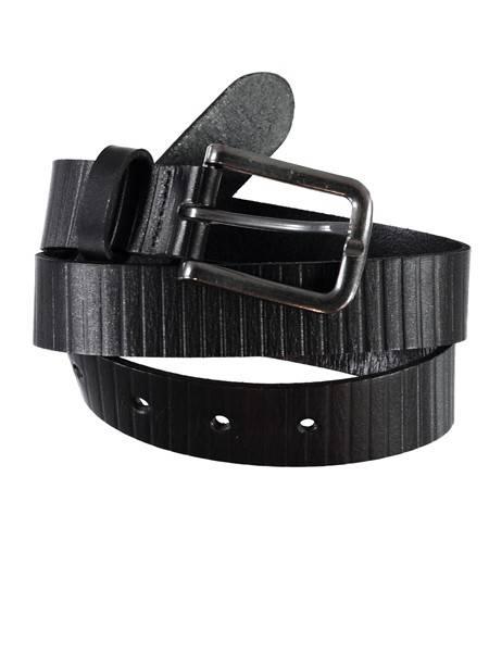 Bilde av NitOliver mini leather belt - Black
