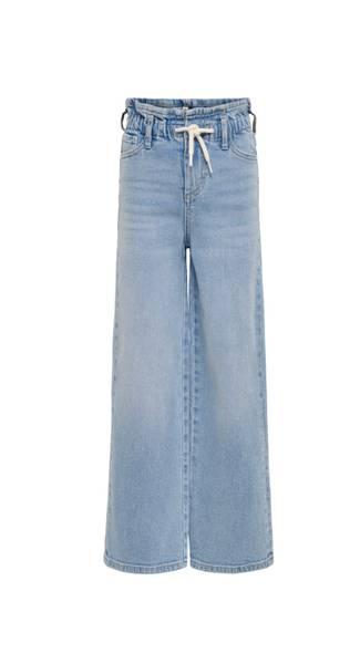 Bilde av KonMie Wide Paperbag Jeans - Medium Blue Denim