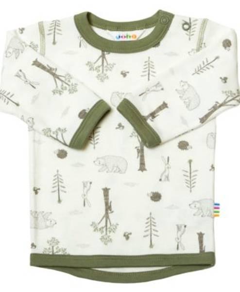 Bilde av Joha Wood trøye i ull/bambus - Salvie