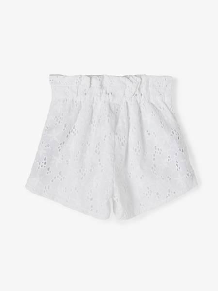 Bilde av NkfFanne shorts - Bright White
