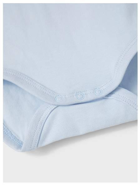 Bilde av NbmHolger ls Polo Body - Cashmere Blue