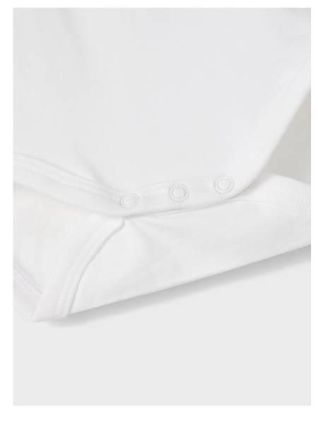 Bilde av NbmHolger ls Polo Body - Bright White