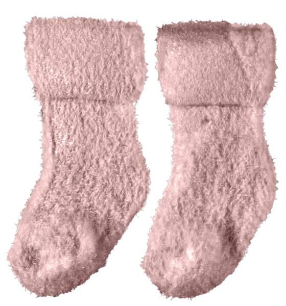 Bilde av Name It nbfninulle terry fluffy sock - Peachskin