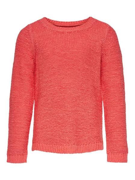 Bilde av KonGeena l/s Kids Pullover Knit - Living Coral