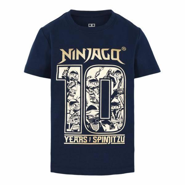 Bilde av Ninjago Spinjitzu t-skjorte - Marineblå
