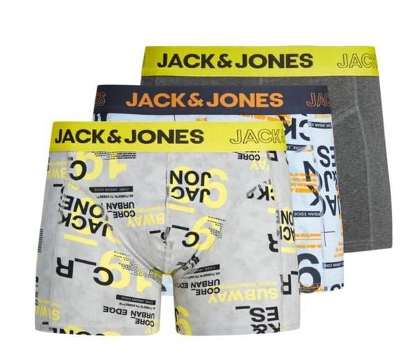 Bilde av JacLewis Trunks 3 pack jr - Maize