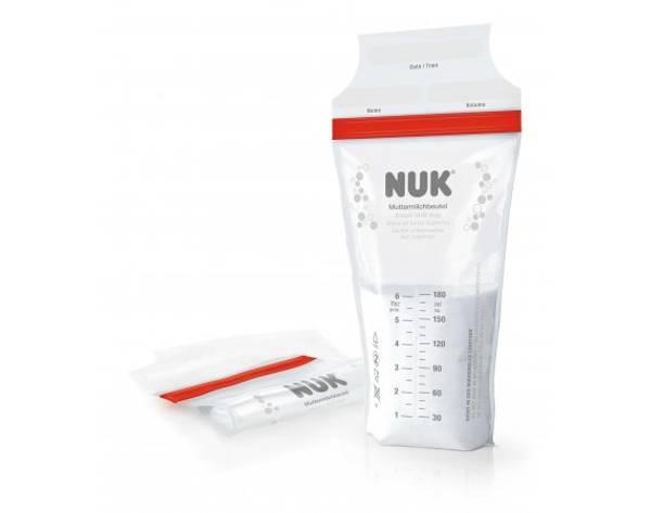 Bilde av NUK oppbevaringsposer til brystmelk