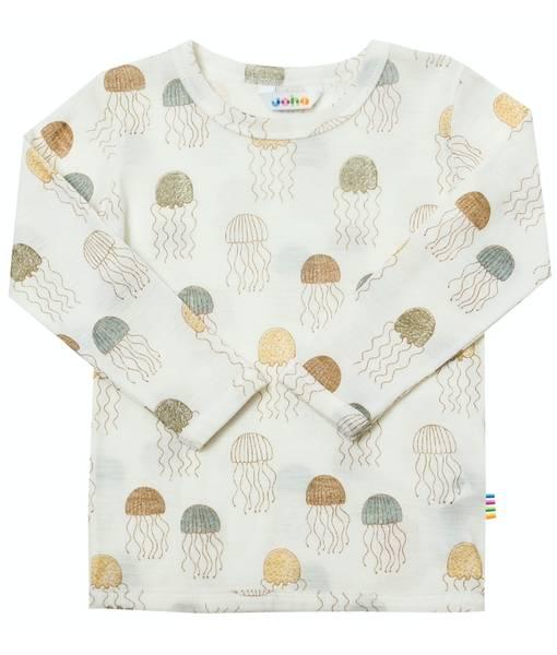 Bilde av Jellyfish ull/silke trøye - Print