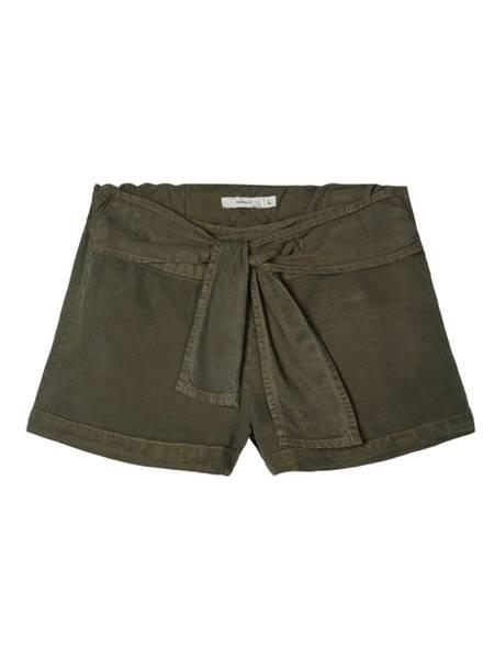Bilde av NkfFeefee shorts - Ivy Green