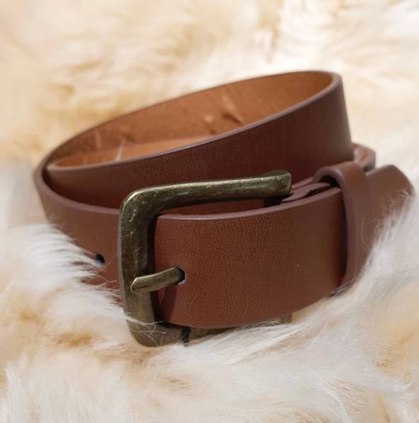 Bilde av NitLusk fake leather belt - Dijon