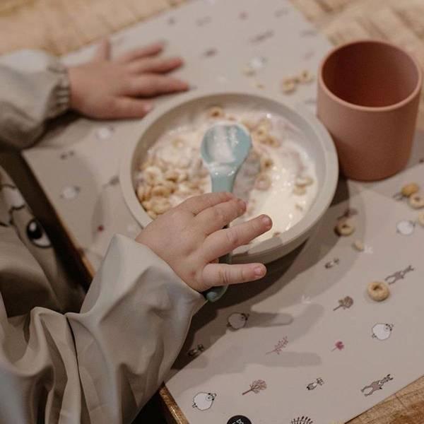 Bilde av BabyLivia Silikon Spisebrikke