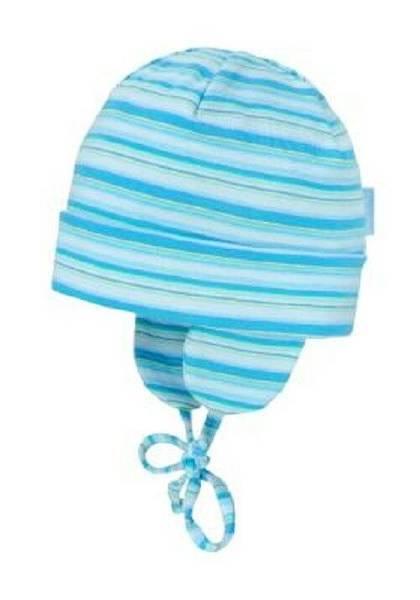 Bilde av Stripet lue med UV beskyttelse - Blå