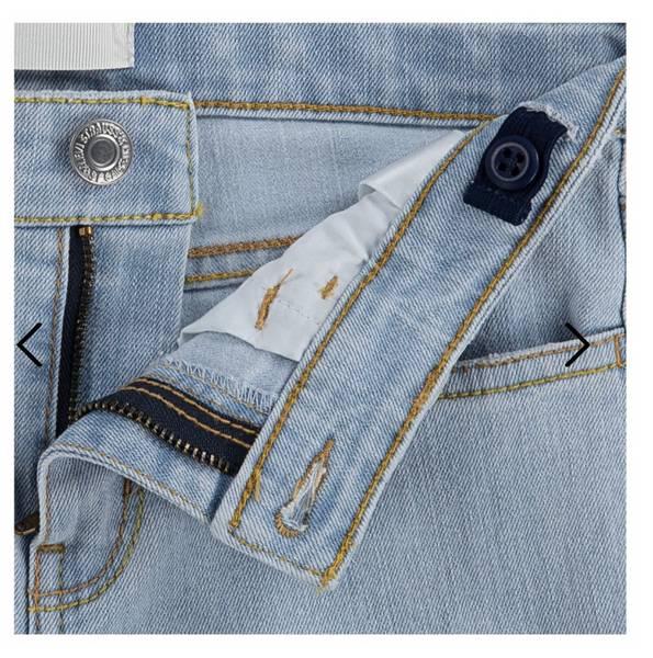 Bilde av Lys Denim Levis 710 Super Skinny Jeans