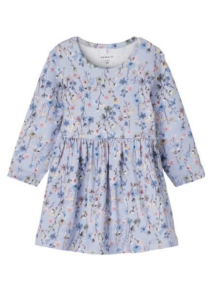 Bilde av NbfTessie ls Dress - Dusty Blue