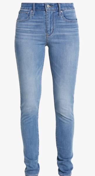 Bilde av Indigo Levis 721 Skinny Jeans