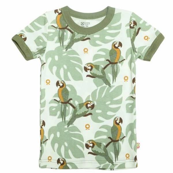 Bilde av T-skjorte «papegøye» - Oliven