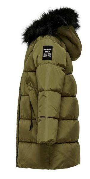 Bilde av Jakke Konmonica Long Puffer Coat Grønn - Kidsonly