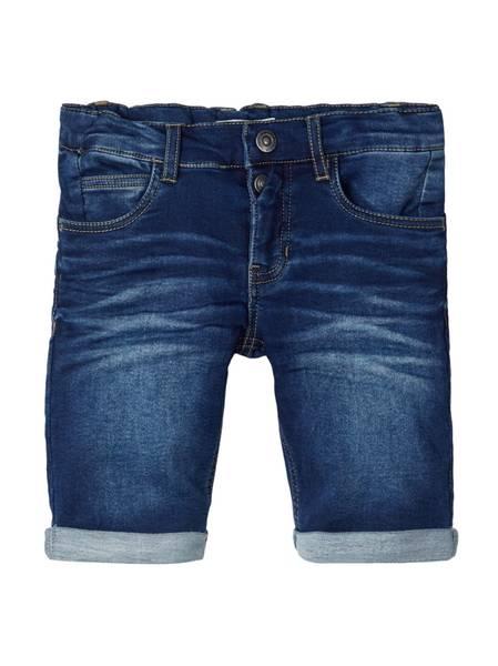 Bilde av NkmSofus dnmbobo 3329 swe long shorts - Dark Blue