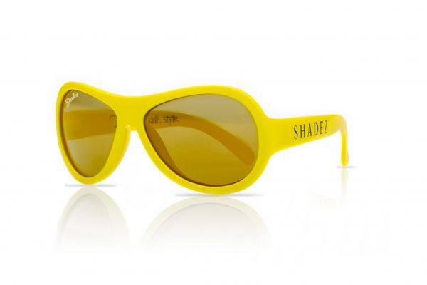 Bilde av Shadez Solbrille Junior 3-7 år - Yellow