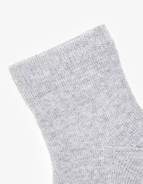 Bilde av NbfWaksi wool terry sock - Grey Melange