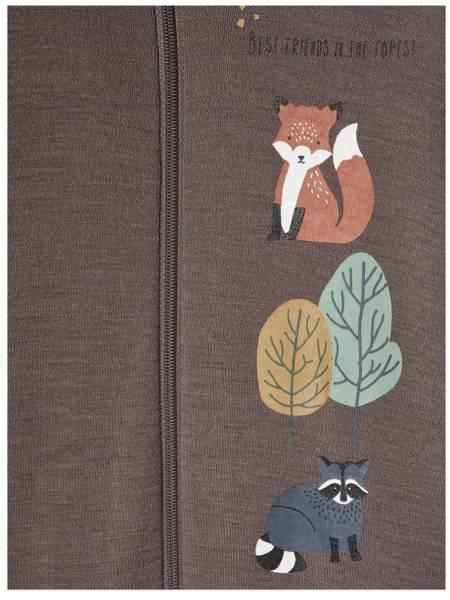 Bilde av Name It nbmwillit wool ls suit - Plum Kitten