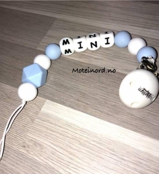 Bilde av Lykkeliten Smokkelenke - Mini - Blå