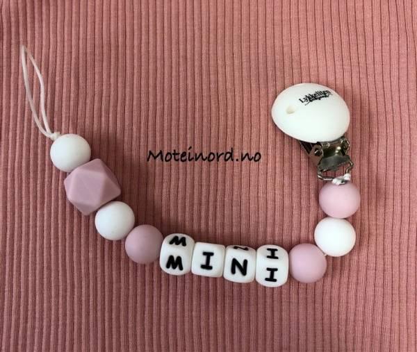 Bilde av Lykkeliten Smokkelenke - Mini - Rosa