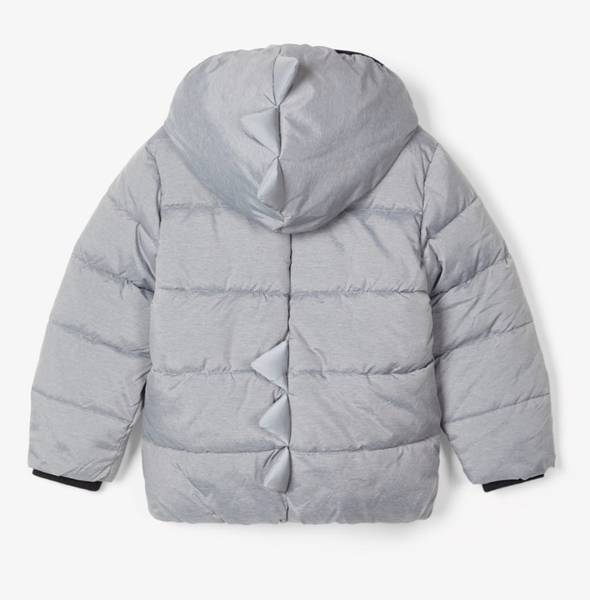 Bilde av NmmMezzo Puffer jacket - Grey melange