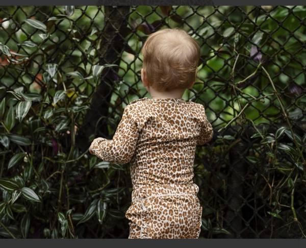 Bilde av Betu bambus Leopard body  - Wheat Melange