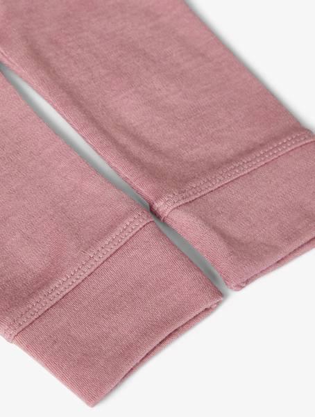 Bilde av nbfwillit wool legging - nostalgia rose