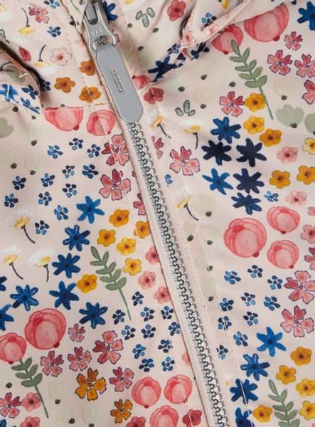 Bilde av NmfMaxi jacket floral beata - Peach Whip