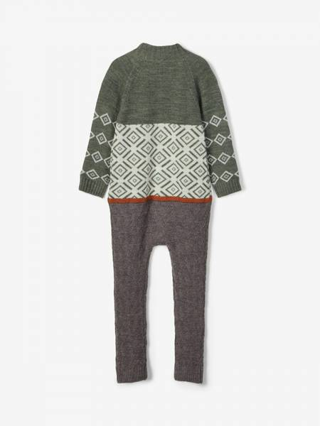 Bilde av Nmmwriss wool knit suit - Thyme