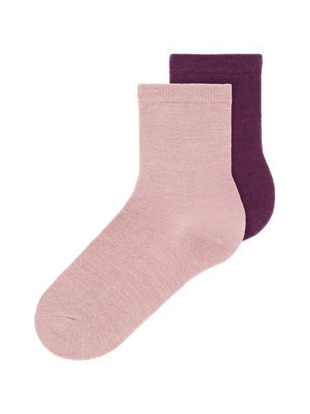 Bilde av NkfWak wool 2pk sock - Woodrose
