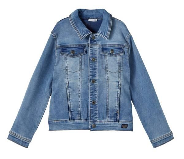 Bilde av NkmAdeas dnm 2478 swe jacket - Medium blue denim