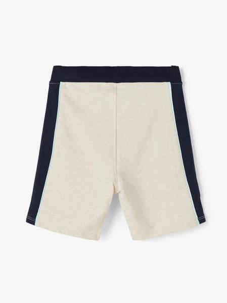 Bilde av NmmHaner light sweat long shorts - Peyote Melange