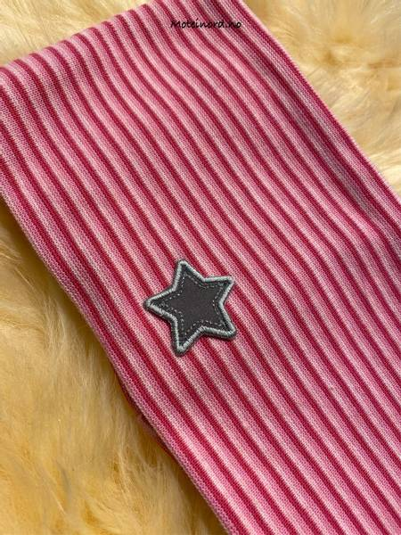 Bilde av Kivat Pannebånd - Striper, Stjerne - Rosa