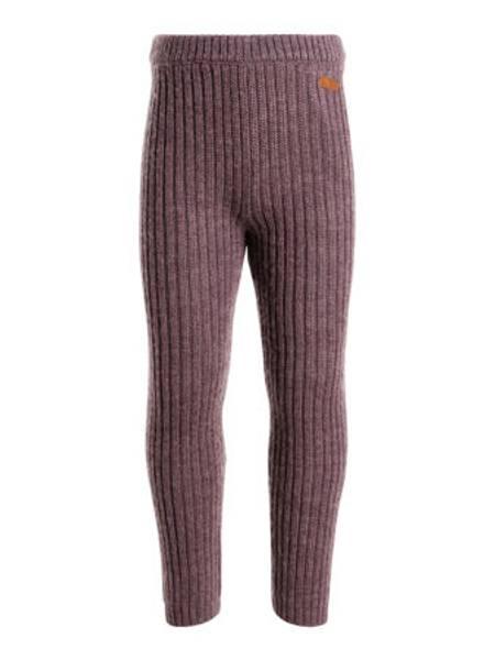 Bilde av nkfWrissa wool legging - Flint