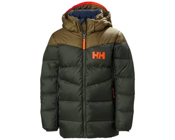 Bilde av HH JR Isfjord Down Mix Jacket. - Pine Green