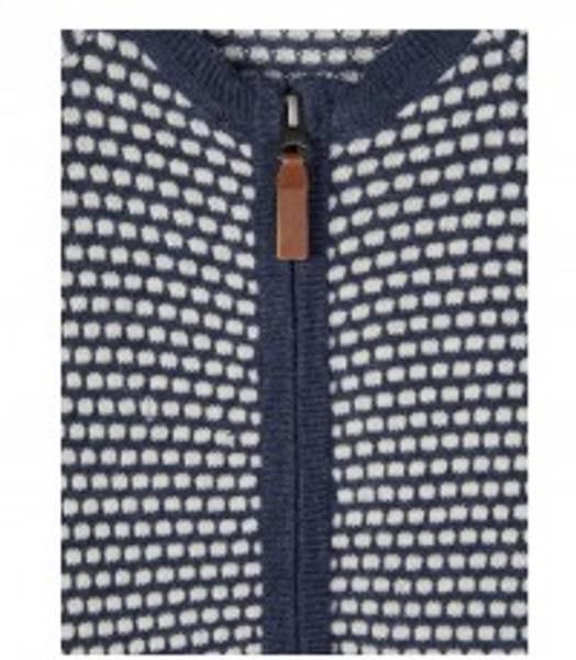 Bilde av Name It nbfwhopla wool ls knit suit - Snow