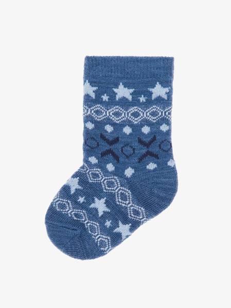 Bilde av NbmWak wool 4 pack sock - Dress Blues