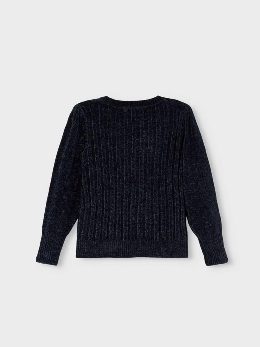 NkfKula ls knit - Dark Sapphire