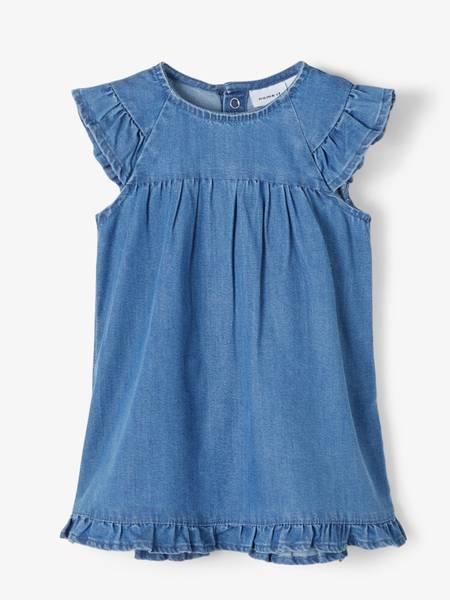 Bilde av NbfAtas Denim 2489 Dress - Blue Denim